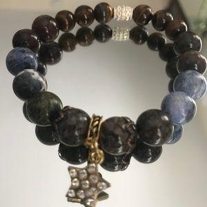 Jewelry - Bracelet-talisman. From natural stone